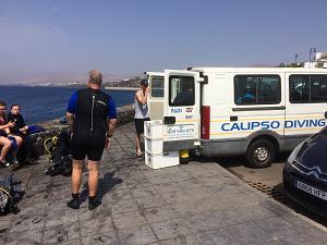 diving at puerto del carmen